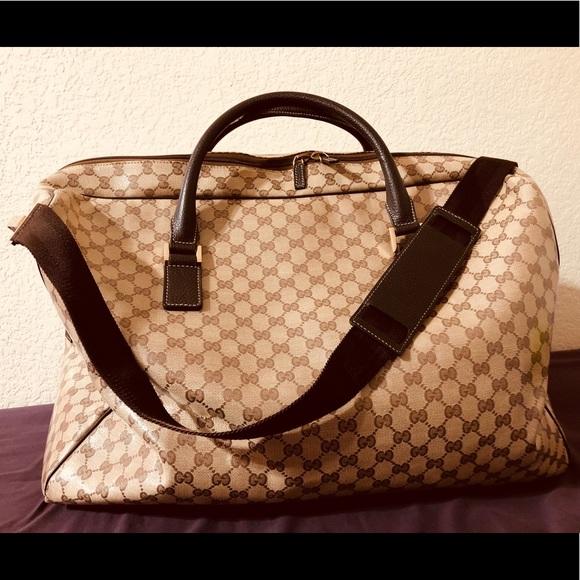463b3ec01fa5 Gucci Bags | Price Dropauthentic Duffle Bag Unisex | Poshmark